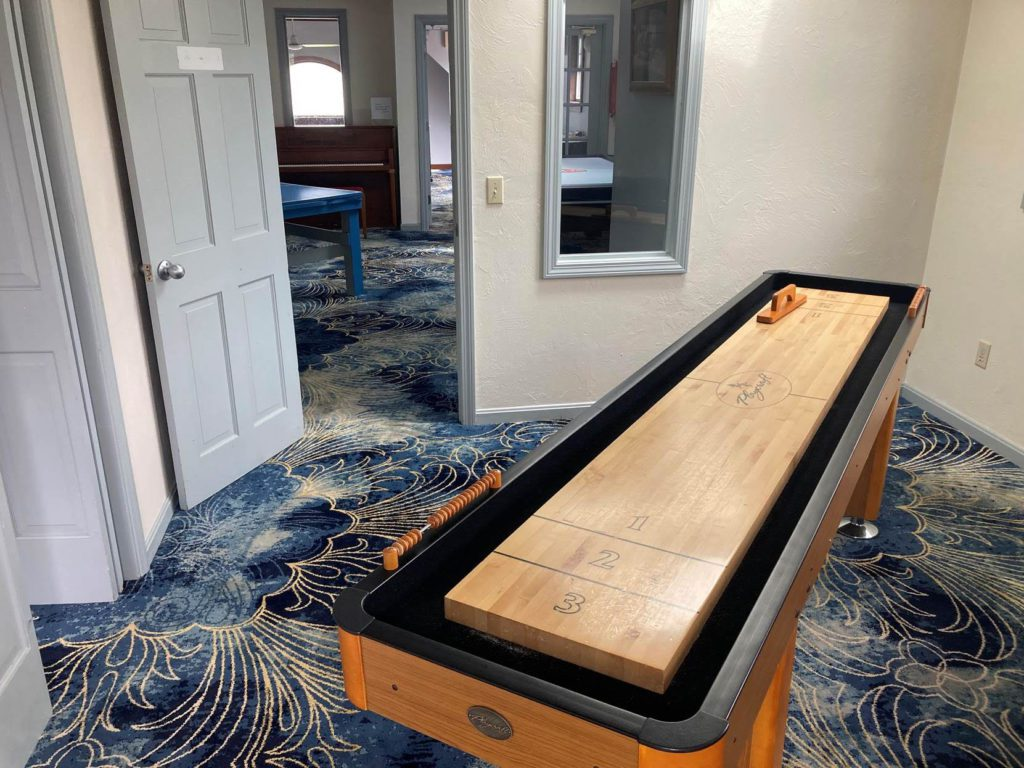 Ocean Front Hotel Game Room Amenities - Family Game Room